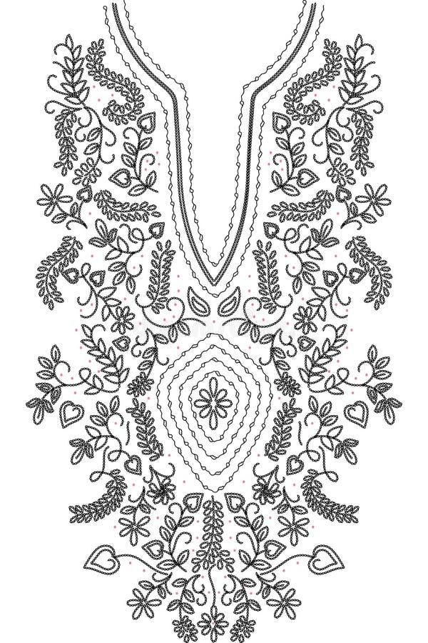Free Neckline Illustration Design Fashion Royalty Free Stock Images - 65519569