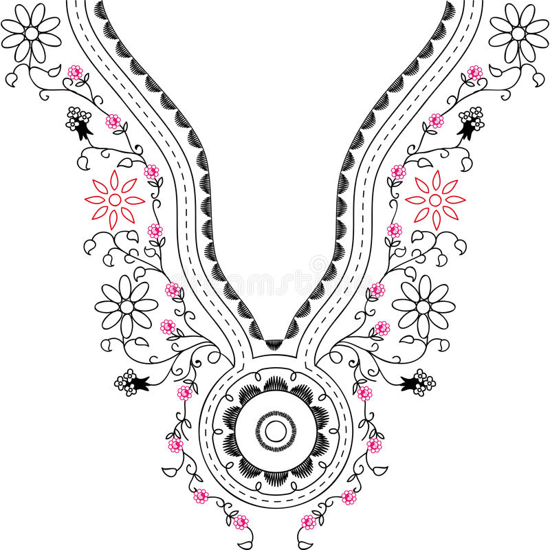 Free Neckline Illustration Design Fashion Stock Photography - 65530352