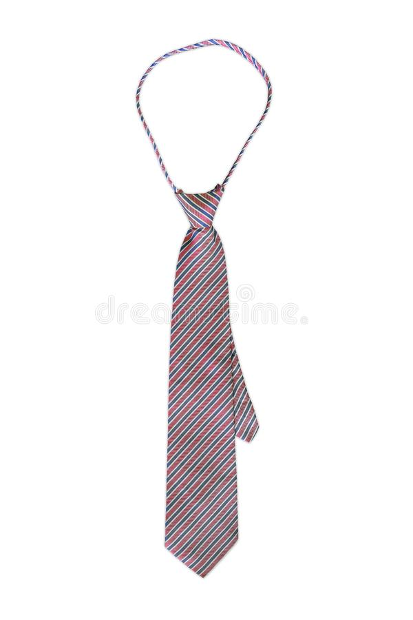 Necktie. On a white background, accessory, apparel, attire, business, casual, cloth, clothes, clothing, color, colorful, concept, corporate, cotton, design royalty free stock image
