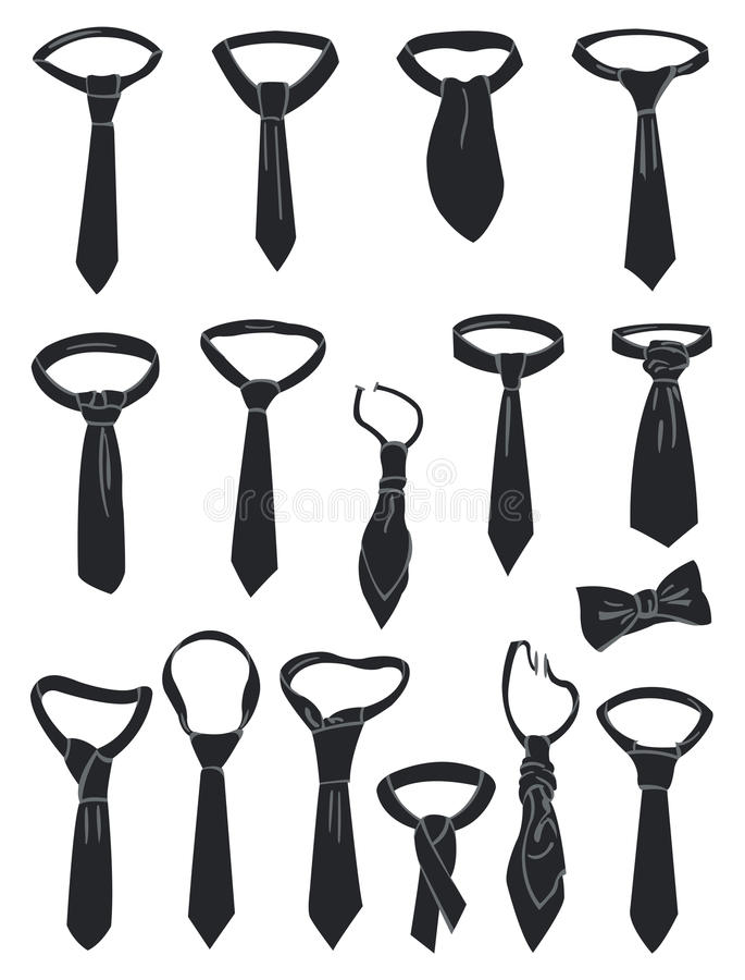 Download Neckties stock vector. Image of classic, business, decoration - 29271492