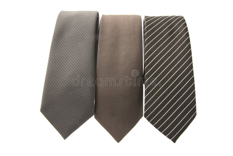 Neckties stock image