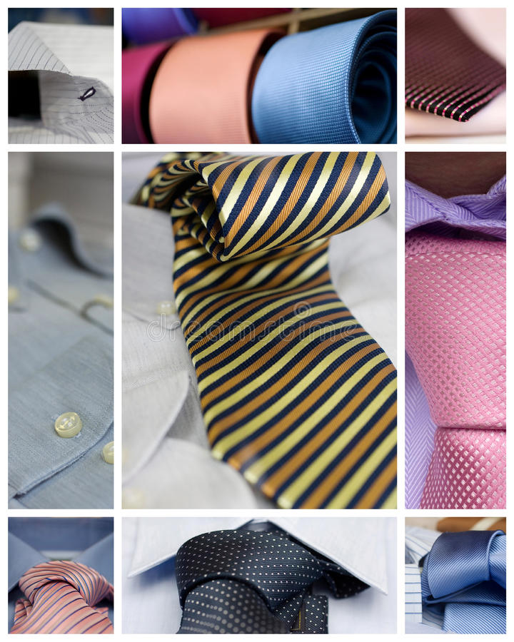 Free Neckties And Shirts Royalty Free Stock Photo - 26018095