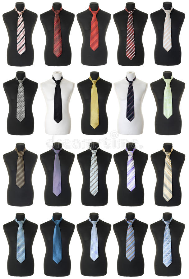 Free Neckties Collection | Isolated Royalty Free Stock Photo - 16856295