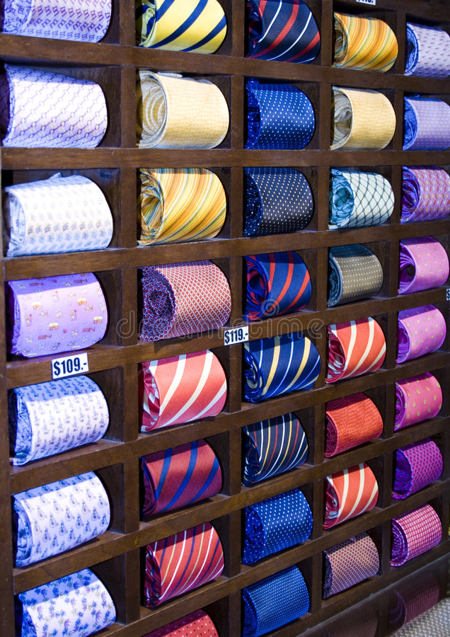 Free Neckties In A Row Royalty Free Stock Photos - 5707298