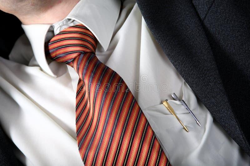 necktile的宏指令 库存图片