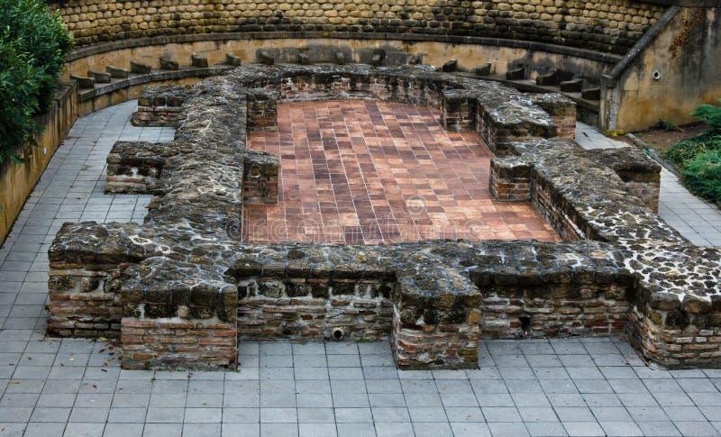 Necrópolis cristiana temprana de Pecs imágenes de archivo libres de regalías