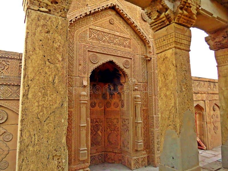 Necrópolis de Makli, cementerio antiguo, Paquistán foto de archivo