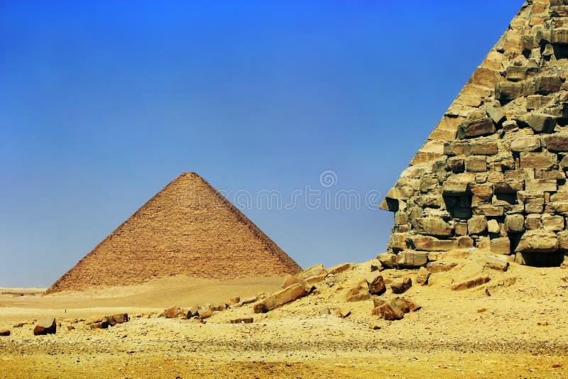 necropolis dahshur стоковые фото
