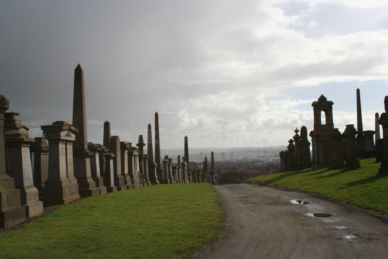 Necropolis,Glasgow stock images