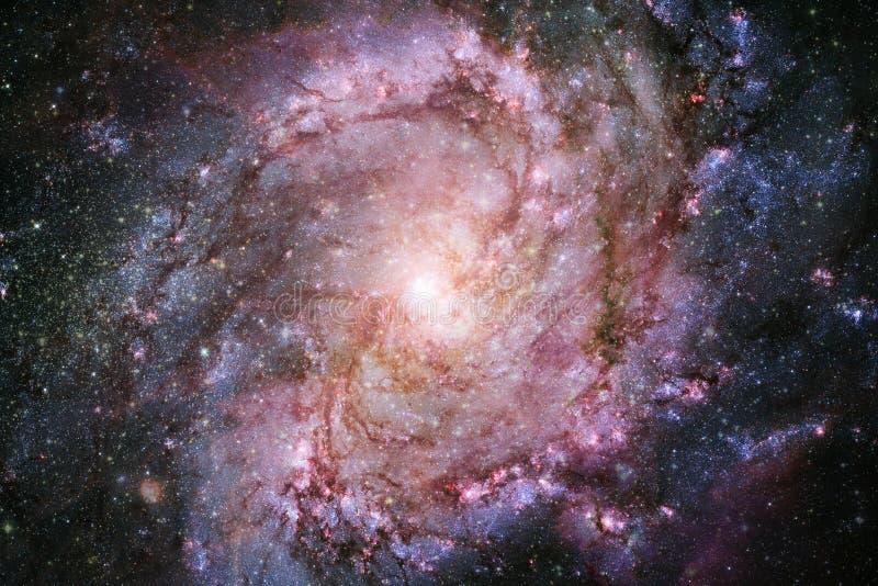 necropolis Immagine dello spazio cosmico che è adatta a carta da parati Elementi di questa immagine ammobiliati dalla NASA illustrazione vettoriale