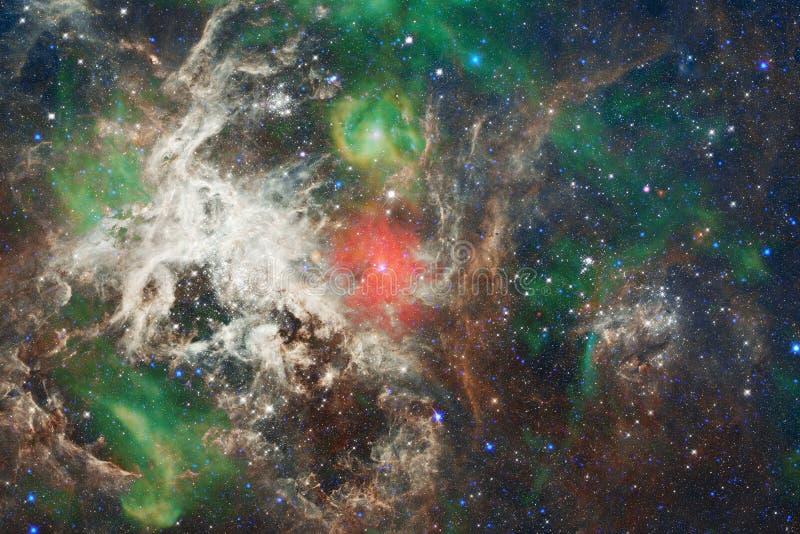 necropolis Immagine dello spazio cosmico che è adatta a carta da parati Elementi di questa immagine ammobiliati dalla NASA royalty illustrazione gratis