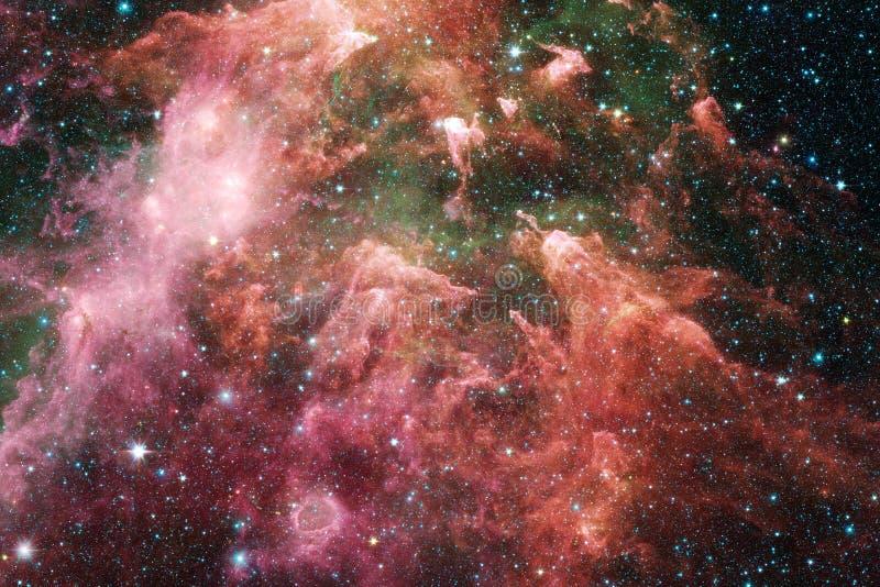 necropolis Immagine dello spazio cosmico che ? adatta a carta da parati illustrazione di stock