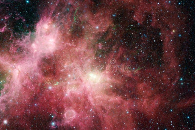 necropolis Weltraumbild, das f?r Tapete passend ist stock abbildung