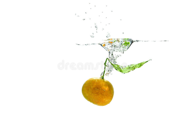 Nectarina foto de archivo libre de regalías