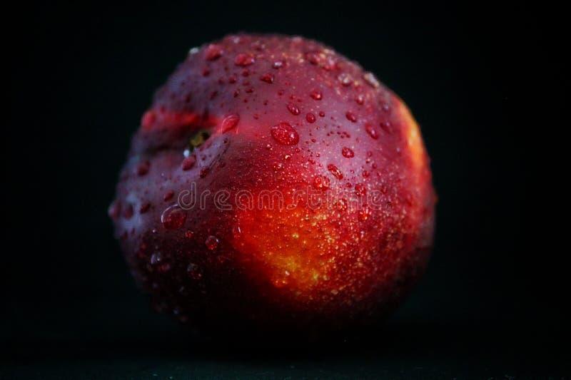 Nectarine fraîche photo libre de droits