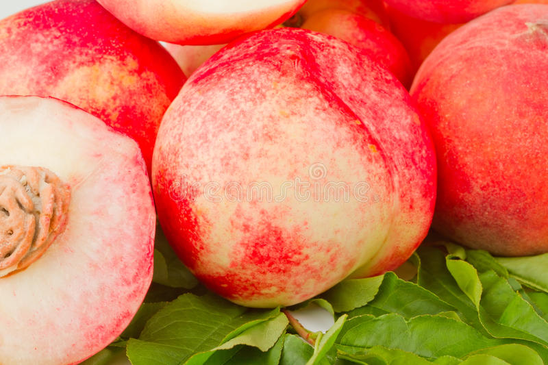 Nectarine And Peach Fruits Stock Images