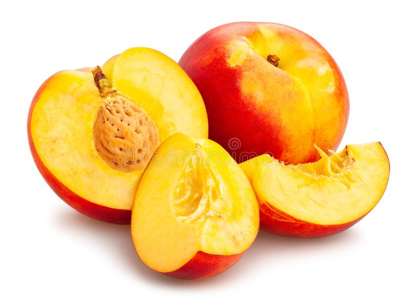 Nectarine stock photography