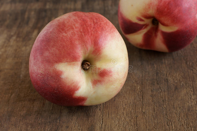 Nectarines blanches image stock