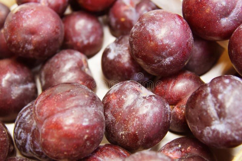 Nectarines fruit. Sweet nectarines fruit on market royalty free stock photography