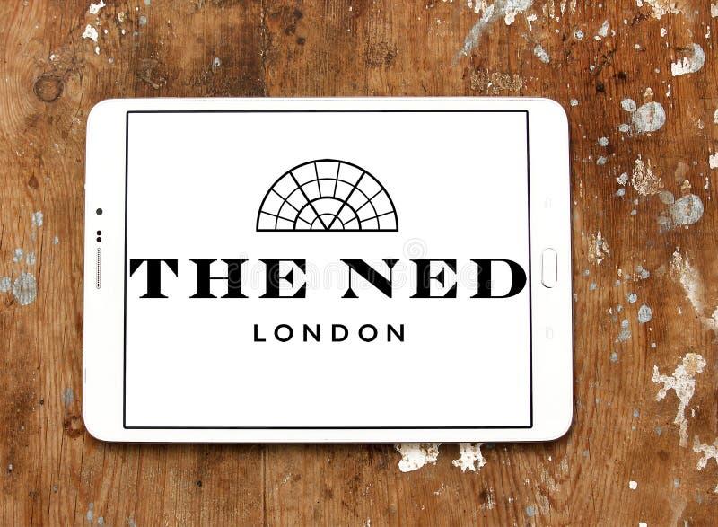 The ned hotel logo stock image