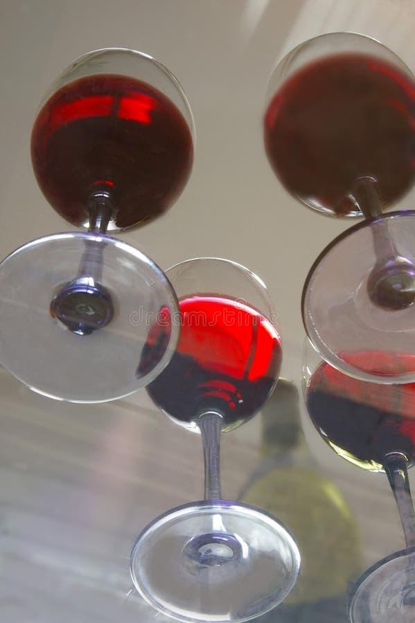 nedanför wine fotografering för bildbyråer