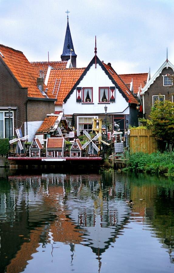 nederländsk volendam royaltyfri foto