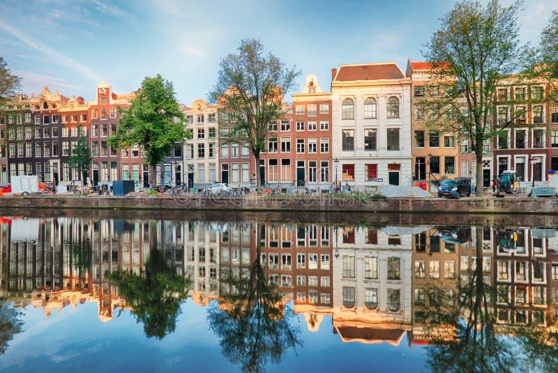 Nederland, Amsterdam op dag royalty-vrije stock afbeelding