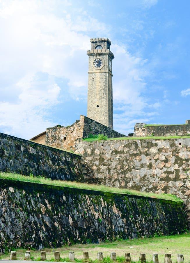 Nederlands fort, monument van koloniale periode stock foto's