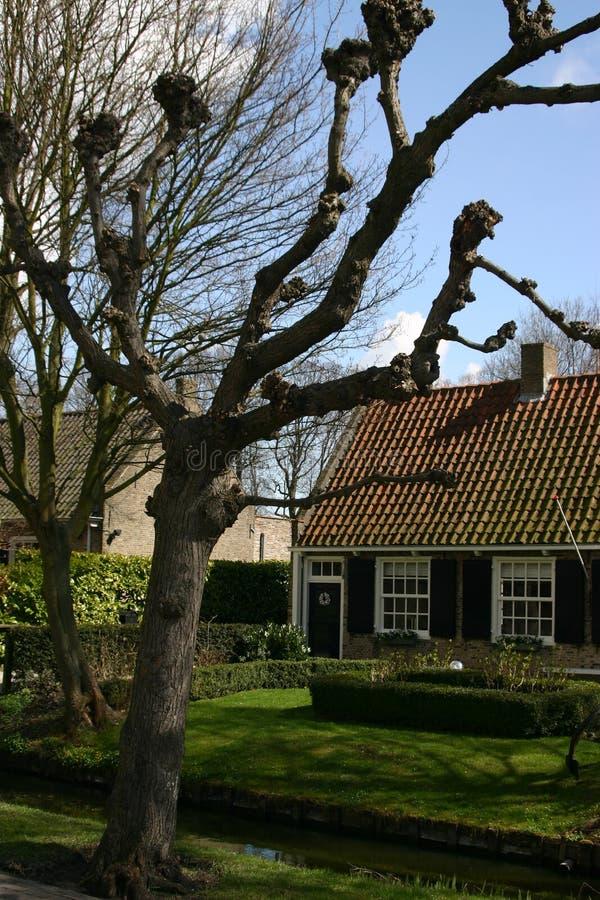 Nederlands huis stock foto