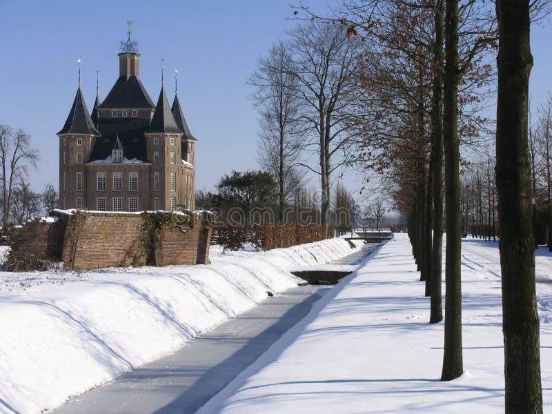 Nederlands kasteel 4 stock foto's