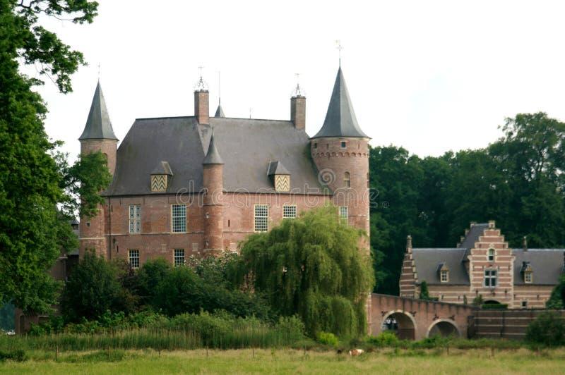 Nederlands kasteel royalty-vrije stock afbeelding