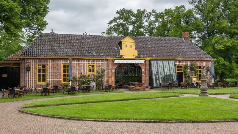 Nederlands kasteel Fraylemaborg royalty-vrije stock afbeelding