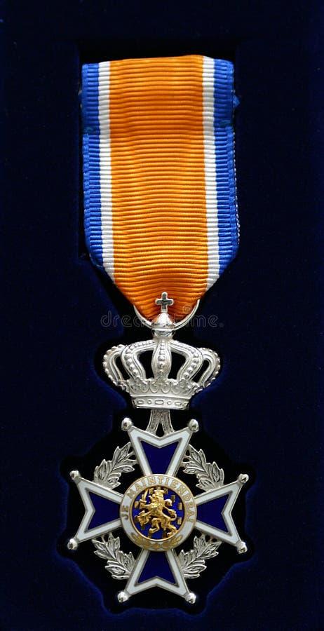 Nederlands kruis van ridderorde royalty-vrije stock foto's