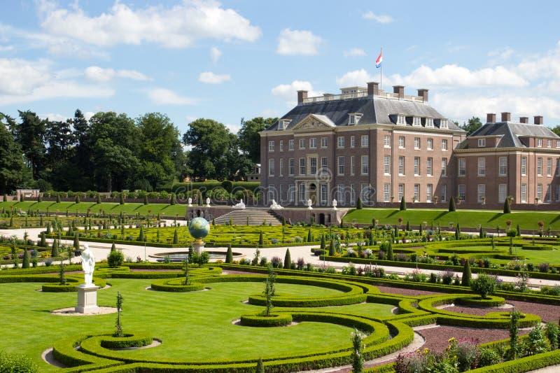Nederlands paleis stock afbeeldingen