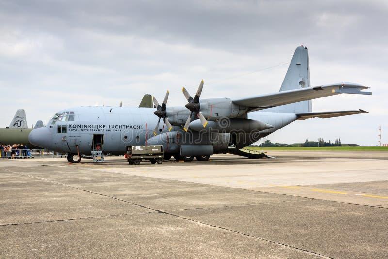 Nederlandse c-130 Hercules royalty-vrije stock afbeelding