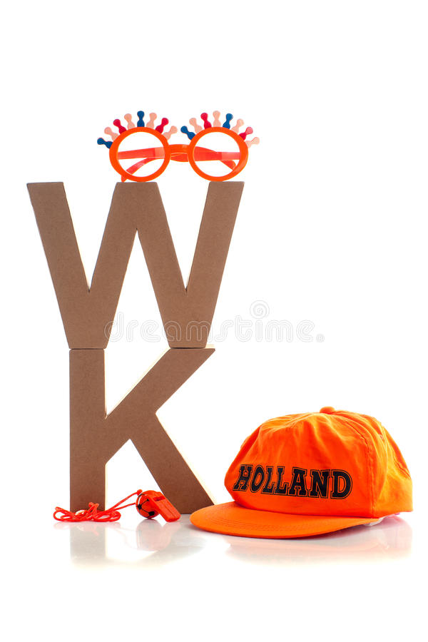 Nederlandse fanstuff royalty-vrije stock foto's