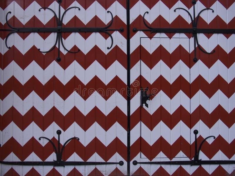Nederlandse kasteeldeur royalty-vrije stock afbeeldingen