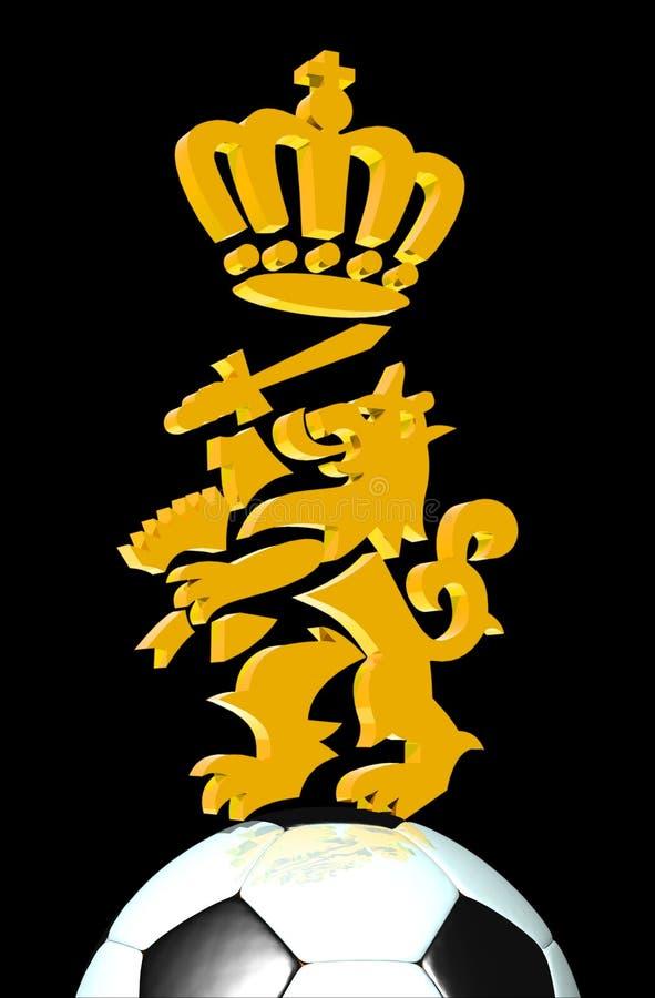 Nederlandse leeuw vector illustratie