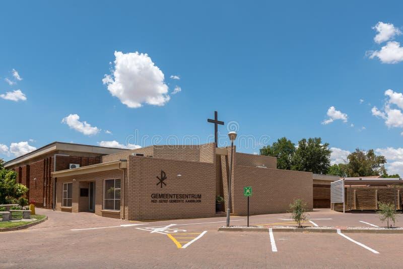 Nederlandse Opnieuw gevormde Kerk Aandbloem Bloemfontein royalty-vrije stock foto