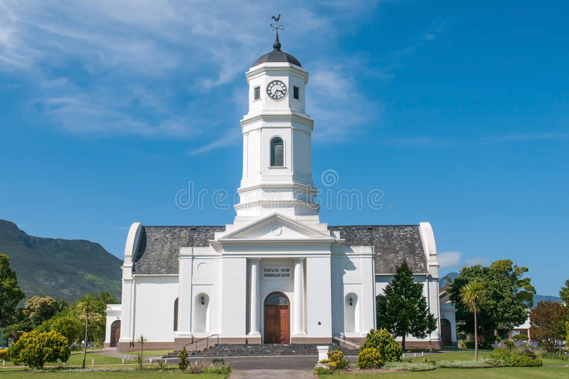 Nederlandse Opnieuw gevormde Moederkerk in George stock afbeelding