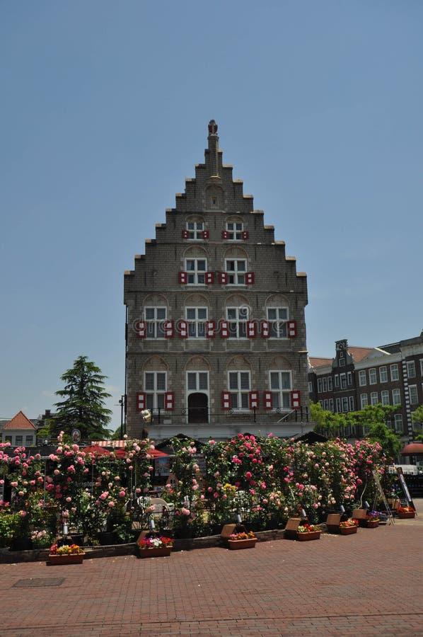 Nederlandse stijlkerk royalty-vrije stock foto's