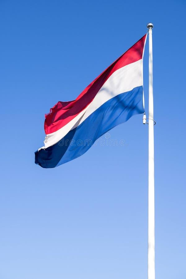 Nederlandse Vlag royalty-vrije stock afbeeldingen