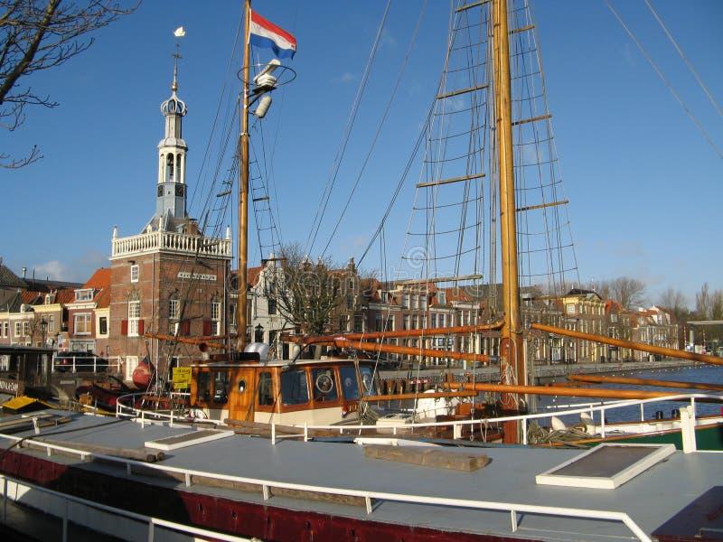 Nederlandse Vlag stock fotografie