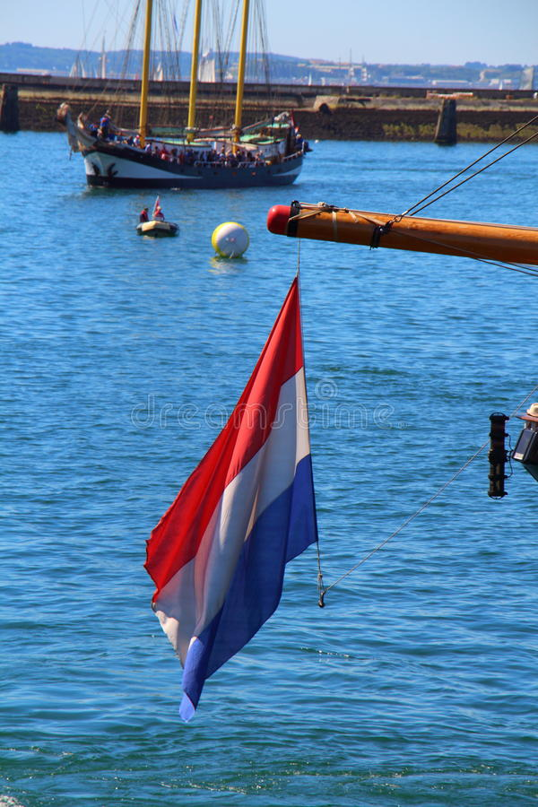 Nederlandse Vlag royalty-vrije stock fotografie
