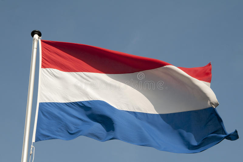 Nederlandse Vlag royalty-vrije stock foto's