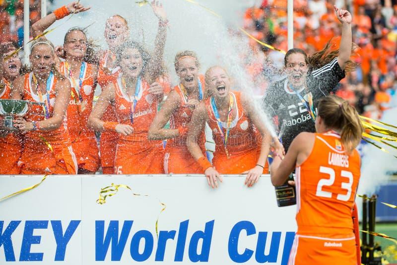 Nederlandse Wereldkampioenen stock fotografie
