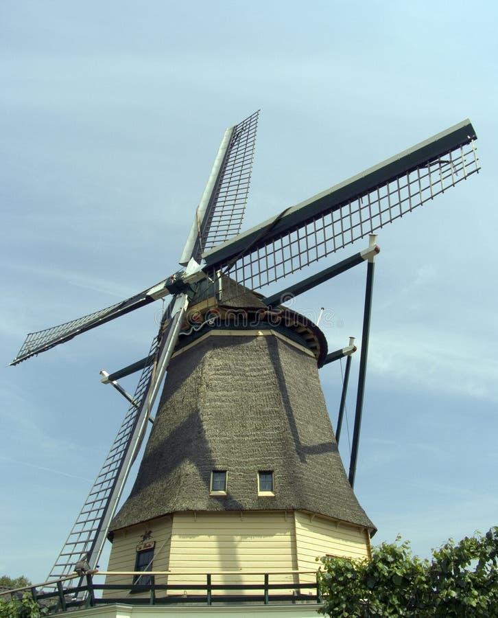 Nederlandse windmolen 12 royalty-vrije stock afbeelding