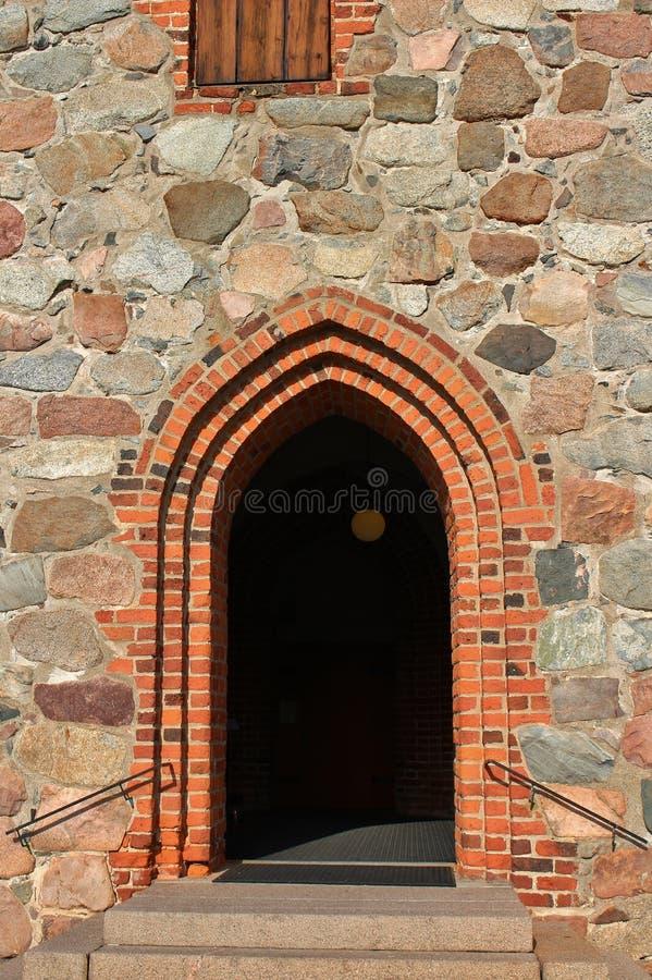 Nederluleå Church royalty free stock photography