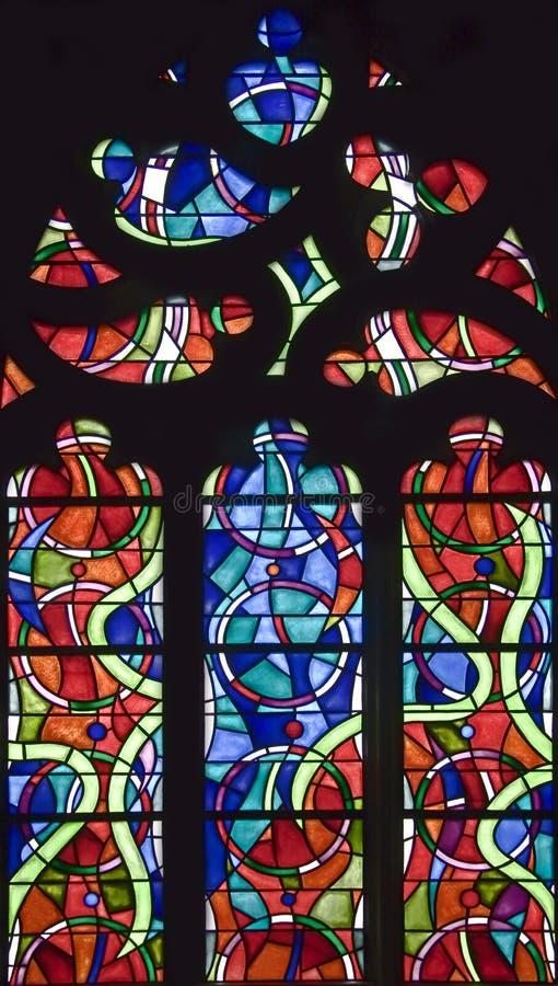 nedfläckadt fönster för 118 exponeringsglas arkivbilder
