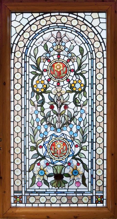 nedfläckadt fönster för lead royaltyfria bilder